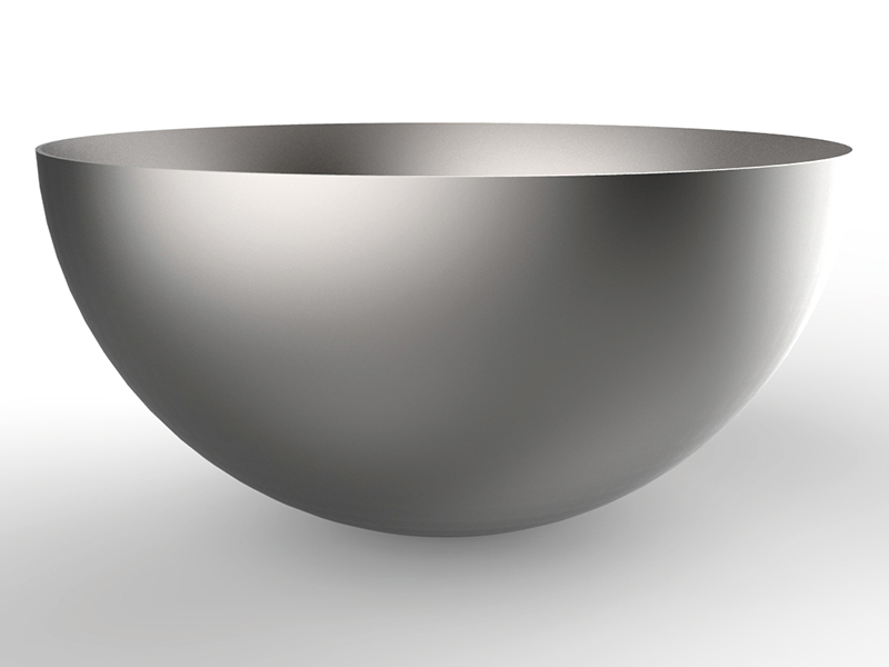 demi sphère inox