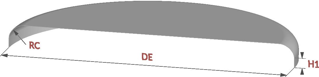 profil fond plat